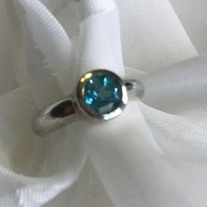 Jewelry - Sterling Blue Topaz Ring